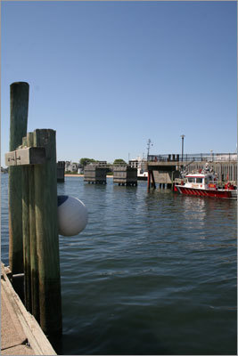 Correct answer: a buoy in Hyannis Harbor