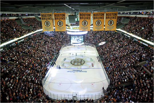 TD Garden came alive for the first Stanley Cup Final game in Boston in 21 years.