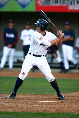 Blake Swihart Picked: First round, No. 26 He's from: Cleveland High School in Rio Rancho, N.M. Position: Catcher About him: Hit .602 with five home runs and 41 RBI in 28 games with V. Sue Cleveland High School. He led USA Baseball's 18U national team last summer in batting average (.448) and had five homers and 17 RBIs in 17 games. Red Sox scouting director Amiel Sawdaye says: 'Team USA was huge. Obviously a chance to see him against some of the best competition, his own peers in the draft. Certainly a guy in the summer, not just with Team USA but throughout multiple showcases, performed with the bat and made us really comfortable playing catcher.'