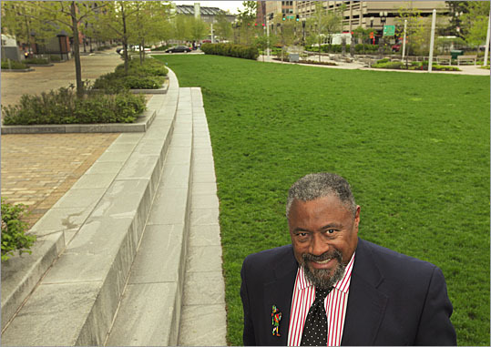 "William H. ""Smitty'' Smith of the National Center for Race Amity on the Greenway."