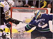 Canucks 1, Bruins 0