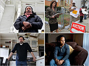 Faces of the state's foreclosure crisis