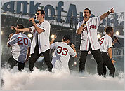 Photos: New Kids and Backstreet at Fenway