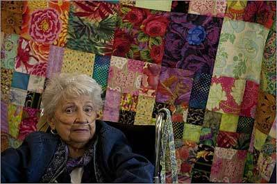 Quilters create warmers for Armenian children