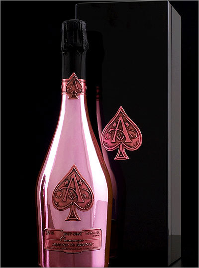 The Bruins also enjoyed four bottles of Armand de Brignac ('Ace of Spades') Champagne Rosé that totaled $4,800.