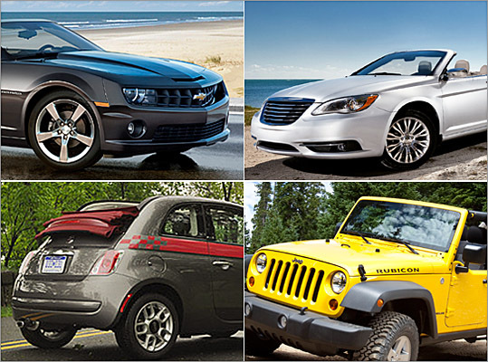 Soaring temperatures means convertible season has arrived. Here are a few drop-tops — from $20,000 to more than $300,000 — to consider for your open-air adventures this summer. (Remember to stock up on suntan lotion!)