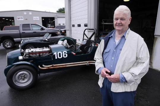 Restored Jaguar To Race Up Mt Washington Boston Com