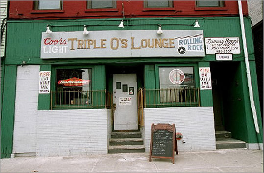 Triple O's Bar Triple O's, an Irish pub, was owned by Kevin P. O'Neil, who pleaded guilty in 2000 to racketeering, money laundering, and extortion charges. In 1990 Triple O's was raided by the feds, searching for evidence to nail Bulger on charges of trafficking, money laundering, extortion, bookmaking, illegal liquor sales, and tax evasion. In 2000, O'Neil agreed to give up his share of the bar and to cooperate in the investigation of Bulger and Flemmi.