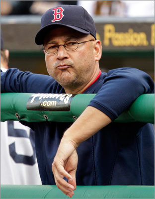 June 25: Pirates 6, Red Sox 4 Terry Francona wasn't happy with his team on Saturday, either. The Red Sox lost their fourth game in a row on Saturday and fell to second place in the AL East behind the Yankees.