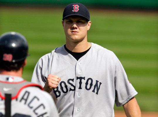 Jonathan Papelbon's farewell tour in Boston? There haven't been a whole lot of high-pressure save situations for Jonathan Papelbon, who is in the last year of his Red Sox contract. Papelbon may end up with the fewest number of saves in his career, and the rest of the numbers are a mixed bag. Papelbon has 41 strikeouts to go with just 6 walks in 30.2 innings this season. But the 30-year-old righthander has a 3.82 ERA (2.35 career average). Papelbon looks light years better than last season, when he blew eight saves and ended the season with a 3.90 ERA,.