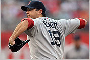 Sox starting pitcher Josh Beckett