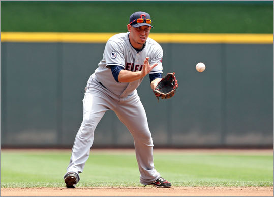 AL shortstop: Asdrubal Cabrera, Indians* Voting runners-up Elvis Andrus, Rangers Jhonny Peralta, Tigers Marco Scutaro, Red Sox * Derek Jeter (Yankees) was originally voted as the starter but said he was concerned about re-injuring his right calf.
