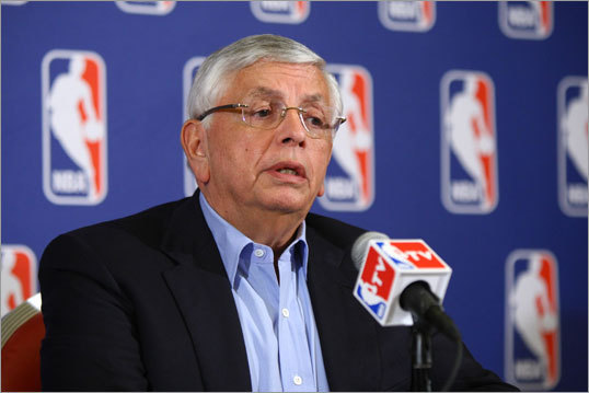 2011 NBA lockout The 2011 NBA lockout has come to an end after 149 days of negotiations between the NBA Players Association and the league, with a tentative agreement to start a shortened season on Christmas Day. NBA commissioner David Stern had previously canceled the preseason and the first two weeks of the regular season. Over the past three decades, the four major professional sports leagues in this country (NFL, NBA, NHL, MLB) have seen seven work stoppages resulting in a loss of games played.