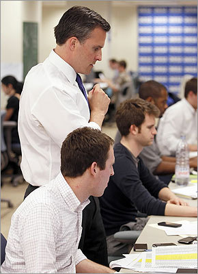 As campaigning for the 2012 presidential election began this year, Gifford and his team members reviewed data.