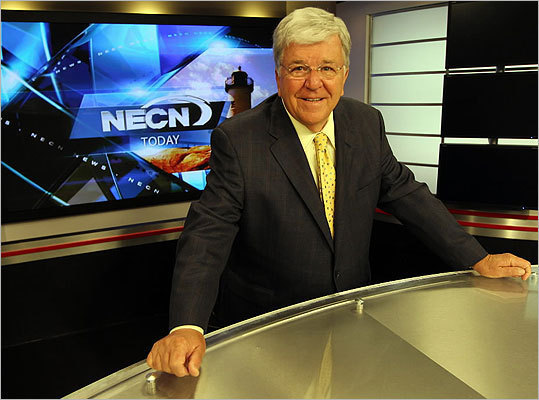 Chet Curtis, along with his former wife and long-time local co-anchor Natalie Jacobson, were once huge news stars, whose fame seemed bigger than the TV station they worked for, WCVB-TV (Channel 5). Today, Curtis, who divorced Jacobson in 2001, is hosting less prestigious Sunday public affairs shows on NECN. His trajectory from megastar anchor to Sunday host mirrors the ongoing transformation of local television news. Here is his story.