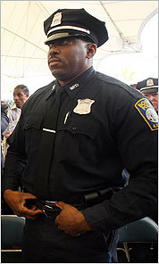 Officer David Williams was implicated in the 1995 beating of a plainclothes Boston police officer.