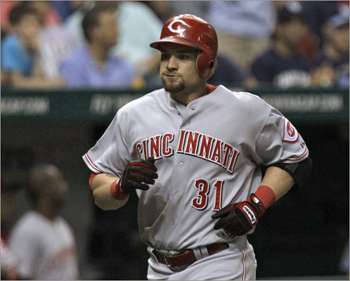 Jonny Gomes, OF Team: Reds Profile: Gomes has drastic splits, hitting .174 against righthanders and .362 against southpaws this season. He has 11 home runs and 31 RBIs this season while playing left field for the Reds this season, but he does have experience in right. He would be a cheap, but solid option for the Red Sox. Jonny Gomes career statistics