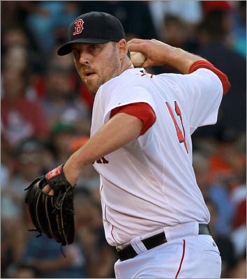 July 9: Red Sox 4, Orioles 0 Good John Lackey showed up for the Red Sox on Saturday. Lackey allowed just three hits in 6 2/3 innings to improve his record to 6-8 on the season.