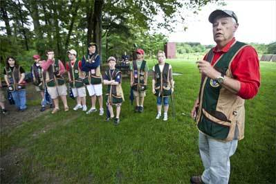 Young hot shots: Teens take to trapshooting