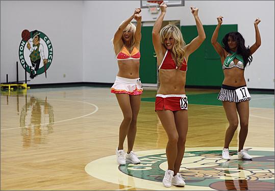 Celtics dancers