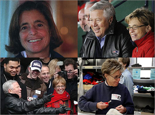 Myra Hiatt Kraft, a powerful local philanthropist and wife of New England Patriots owner Robert Kraft, died at 68 on July 20 after a battle with cancer. Never simply a boardroom benefactor, she staffed phone banks for fund-raising drives and made persuasive calls when a cause needed the kind of financial boost only the rich can provide. Take a look back at the philanthropist's life and achievements.