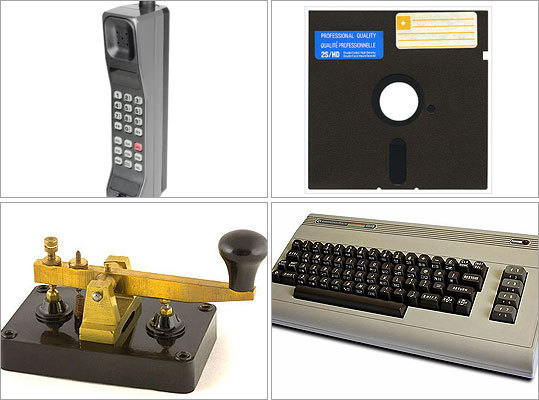 Remember when phones had a long, tangled cords and always pulled off the wall? Nowadays, the cord is gone, and phones are likelier to be our pockets than on kitchen counters. Not many of us can keep up with the latest technology. All this makes us a little nostalgic for the older, simpler tech days. Here are favorite former gadgets on a ranked scale: Ancient: seen in museums only, unusable, unfixable Antique: unusable, unfixable Vintage: usable, old, ironic, cool Outdated: still available in stores, but barely used