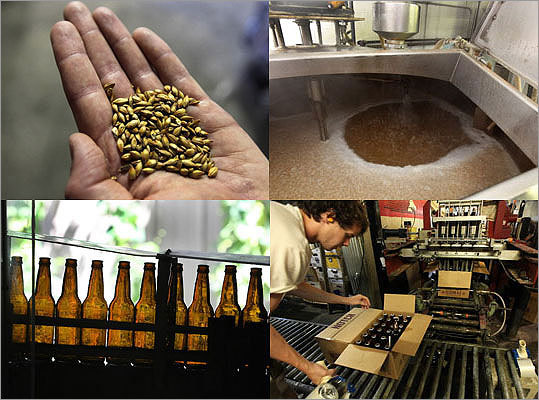 A new wave of niche breweries is the most noteworthy since the mid-1990s. New England is playing catch-up with California and other parts of the country already experiencing their own craft beer boomlets. Take a look at the inner workings of a brewery.