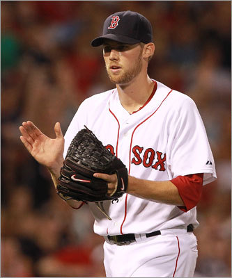 July 23: Red Sox 3, Mariners 1: Red Sox reliever Daniel Bard applauded after getting out of a bases loaded jam in the eighth inning, preserving the Red Sox' lead.