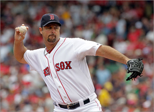 July 24: Red Sox 12, Mariners 8: Tim Wakefield started for the Red Sox Sunday afternoon as the Red Sox sought a weekend sweep of the Seattle Mariners at Fenway Park.