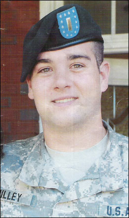Lieutenant Scott Milley, 23, Sudbury Milley, 23, graduated from Lincoln-Sudbury High School in 2005, where he was captain of the ice hockey team. He later went to the University of New Hampshire, where he joined ROTC and graduated cum laude in 2009. From the age of 3, his father said, it was his 'absolute dream to be an Army man.' He became an Army Ranger assigned to Second Battalion, 30th Infantry Regiment, Fourth Brigade Combat Team, 10th Mountain Division out of Fort Polk, La. Milley died after serving only one month in Afghanistan on Nov. 30, 2010, when insurgents attacked his unit on patrol in Logar province with small arms fire. He was the first service member from Sudbury to die in the wars in Iraq and Afghanistan.