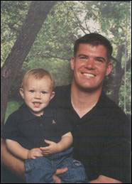 Captain Seth R. Michaud, 27, Hudson Michaud who grew up in Hudson was an Eagle Scout and an athlete. He graduated from the Naval Academy in Annapolis. He was married and had a young son, Ian. Michaud was killed on June 22, 2003 while on deployment in Djibouti, Africa, as part of a counter-terrorism operation. During a practice mission, bombs dropped from a B-52 inadvertently landed near him. He had recently been promoted to aircraft commander.