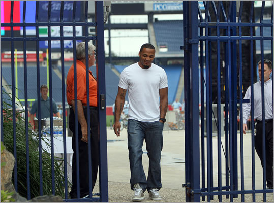 The gates at Gillette Stadium were unlocked and players began showing up one day after the NFL labor dispute ended with the final agreement being reached between team owners and players. Patrick Chung was among the first Patriots to arrive. Video: Players return to Gillette