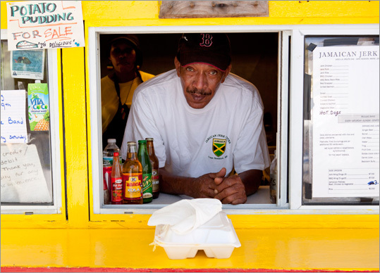 The Jamaican Jerk Center is just down the road from Flo's. Order curried goat, oxtail, jerk chicken, and fried plantains. Order sorrel or Irish moss to drink. On summer evenings plan to stay awhile and enjoy live reggae groups such as Fitzie Niceness and the Irations. 1400 Route 1, 207-351-3033, www.jamaicanjerkcenter.com , Jamaican jerk wing dings $7