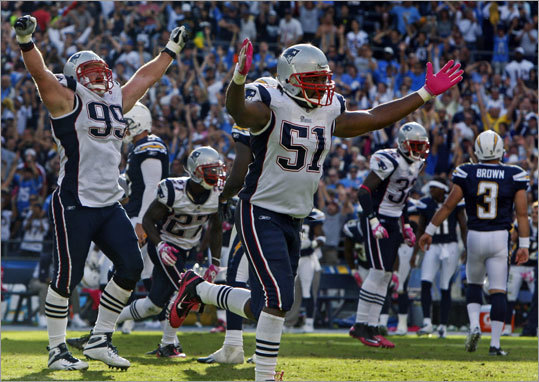 Jerod Mayo, LB As the Patriots lead linebacker, and most consistent of the bunch, Mayo has deservedly earned his respect. While not a rah-rah kind of guy, he provides leadership by example and is noticeably a hard worker, organizing practices during the lockout for Patriots players. His consistency (team-leading 113 solo tackles last season) makes him indispensable.
