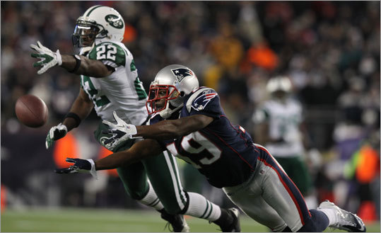 Brandon Tate It seems unlikely that the Patriots will come away from the free-agent frenzy with a big-name receiver, so it appears they will be counting on the development of young receivers to complement veterans Deion Branch and Wes Welker. Tate, a burner who averaged 18 yards a catch last season (24 receptions, 432 yards), has been inconsistent, but has the talent to emerge as a trusted deep threat. Julian Edelman and Taylor Price are also in the mix.