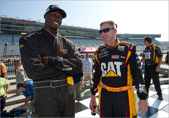 In addition to playing football, Ochocinco has marketed his personal brand, appearing on the television show 'Dancing with the Stars', trying out for an MLS soccer team, and taking a spin in a NASCAR Sprint Cup car.