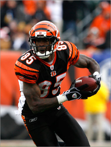 On the field, Ochocinco is less of a deep threat than a very reliable, very talented receiver. The 33-year old had 67 catches for 831 yards and four touchdowns last season on a Bengals team that won an AFC-worst four games. He caught nine touchdown passes in 2009, and his career-high of 10 came way back in 2003.