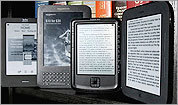 A rundown of e-readers