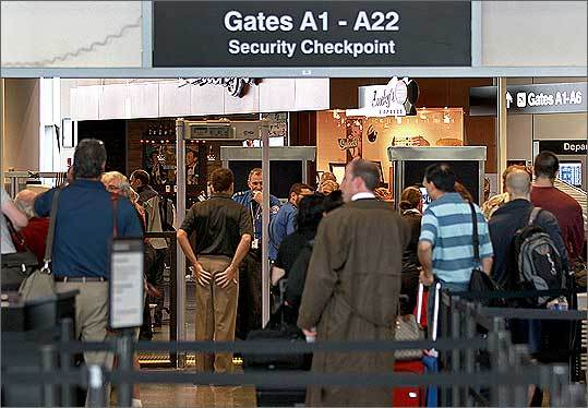 "August 2, 2011: The Transportation Security Administration started testing a new layer of behavior-detection security screening where officers will talk to each passenger going through the Terminal A security checkpoint. Officers will ask each passenger two or three questions such as ""Where are you traveling today?"" and ""How long have you been in town?"" and then look for suspicious behavior such as sweating or avoiding eye contact."