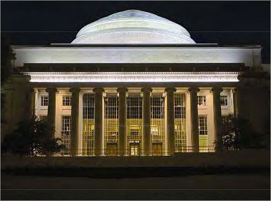 No. 9: Massachusetts Institute of Technology While MIT came in at No. 9 on the overall list, is was ranked No. 5 among all research universities.