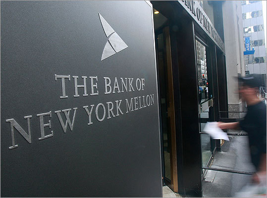 Bank of New York Mellon Number of jobs affected: 1,500 Bank of New York Mellon Corp., which employs 4,000 people in Massachusetts, said it plans to eliminate 1,500 positions, or 3 percent of its global work force this year, in a move the company contends was underway before this week's market volatility. Bank of New York Mellon Corp. said executives had not yet decided what parts of the company would be affected but it would try to minimize layoffs through attrition and a hiring freeze, and by using fewer temporary workers.