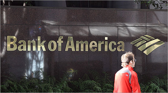 Bank of America Number of jobs affected: 3,500 Bank of America said it plans to cut 3,500 jobs company-wide as it tries to cut expenses and boost its bottom line. That comes on top of the 2,500 jobs it eliminated earlier this year. Bank of America declined to comment on the prospect of further job reductions or say how many of the job cuts will occur in New England. But Massachusetts will likely be affected because it is one of the company's largest centers of operations.