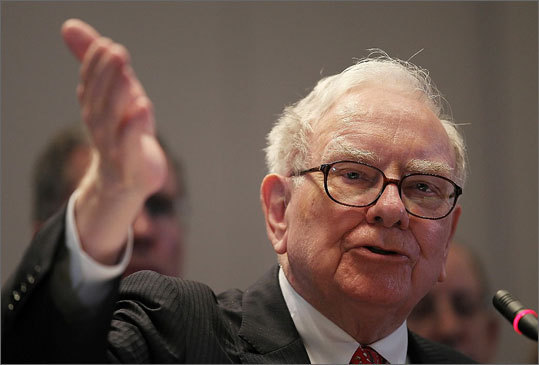 7. Berkshire Hathaway Inc. Ticker information: BRK/B Current market cap: $172.93 billion Left: Berkshire Hathaway's CEO Warren Buffett.