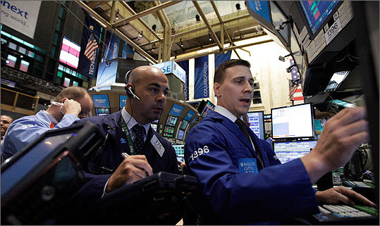 Aug. 9 Stocks soar after the Federal Reserve guaranteed super-low interest rates until 2013. Wall Street roared its approval and finished a wild day with a 429-point gain. Read more