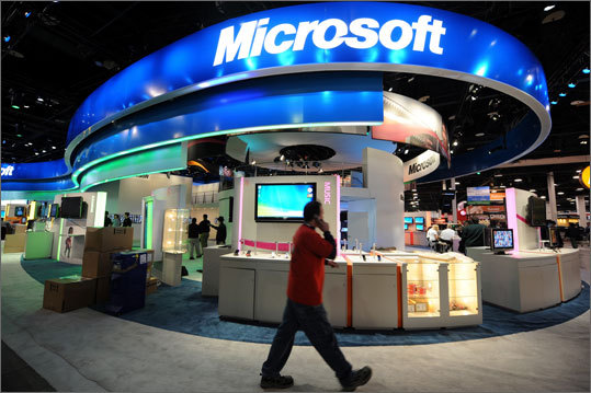 3. Microsoft Corp. Ticker information: MSFT Current market cap: $208.59 billion