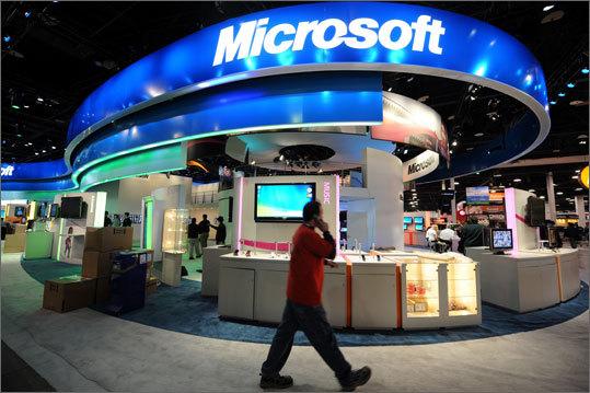 3. Microsoft Corp. Ticker information: MSFT Current market cap: $208.59 billion