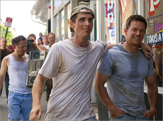 Give our accent a try It's hard to say which accent -- Boston or British -- has been more badly butchered in film over the decades, but English actor Christian Bale did a great job using a Boston accent when he portrayed Dicky Eklund in 'The Fighter,' co-starring along with Dorchester native Mark Wahlberg.
