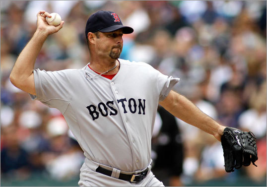 Aug. 14: Mariners 5, Red Sox 3 Tim Wakefield ran into some road blocks during his fourth attempt at his 200th win, giving up five runs (four earned) in eight innings as the Red Sox dropped two out of three games in Seattle in their weekend series.