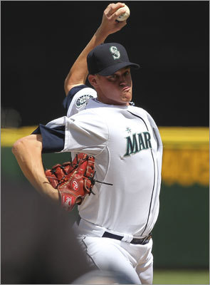 Aug. 14: Mariners 5, Red Sox 3 Wakefield was opposed by Mariners starter Charlie Furbush, a native of South Portland, Me. Furbush picked up his third win of the season Sunday, giving up one run in seven innings.