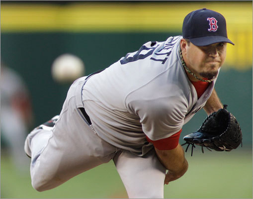 Aug. 13: Mariners 5, Red Sox 4 Josh Beckett started for the Red Sox Saturday night in what was supposed to be a pitching duel between Beckett and Mariners ace Felix Hernandez.